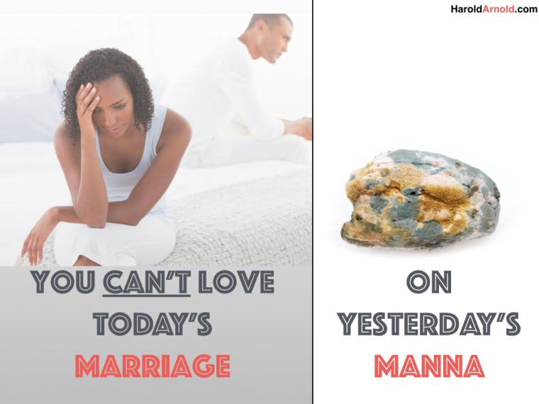 Keeping your marriage fresh