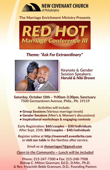 Red Hot Marriage Conference 2015